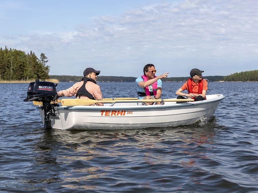 Ruderboot Terhi 385 aus Finnland