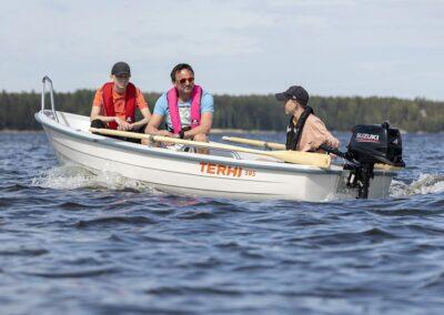 Kleines motorisierbares Ruderboot Terhi 385