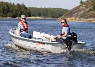Terhi 440 finnisches Ruderboot