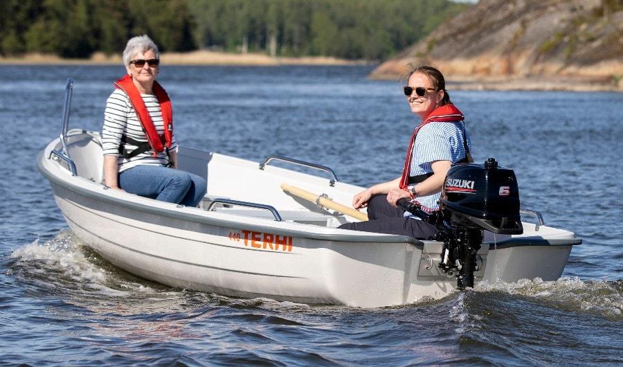 Terhi 440 Ruderboot aus Finnland