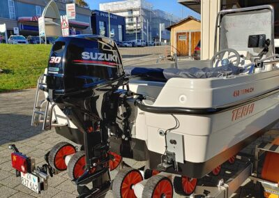 Terhi 450 als Fischerboot optimiert