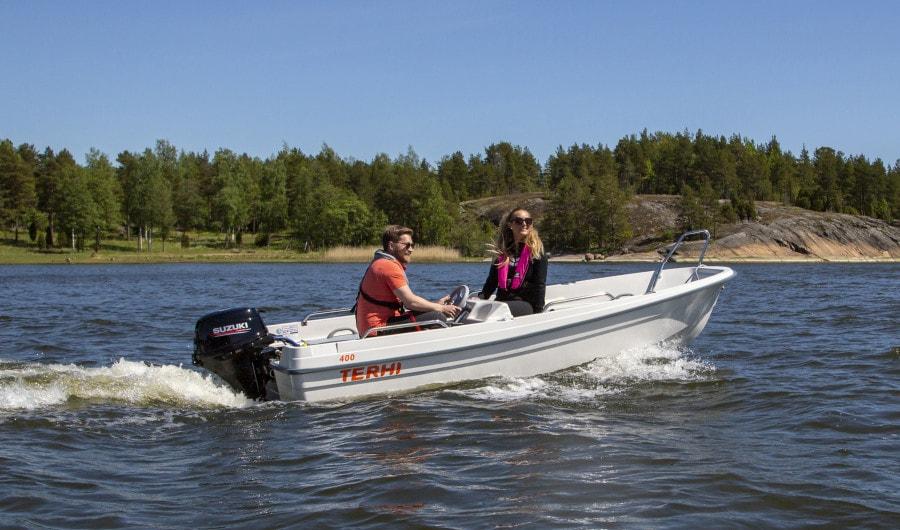 Terhi 400 Kleinboot Badeboot