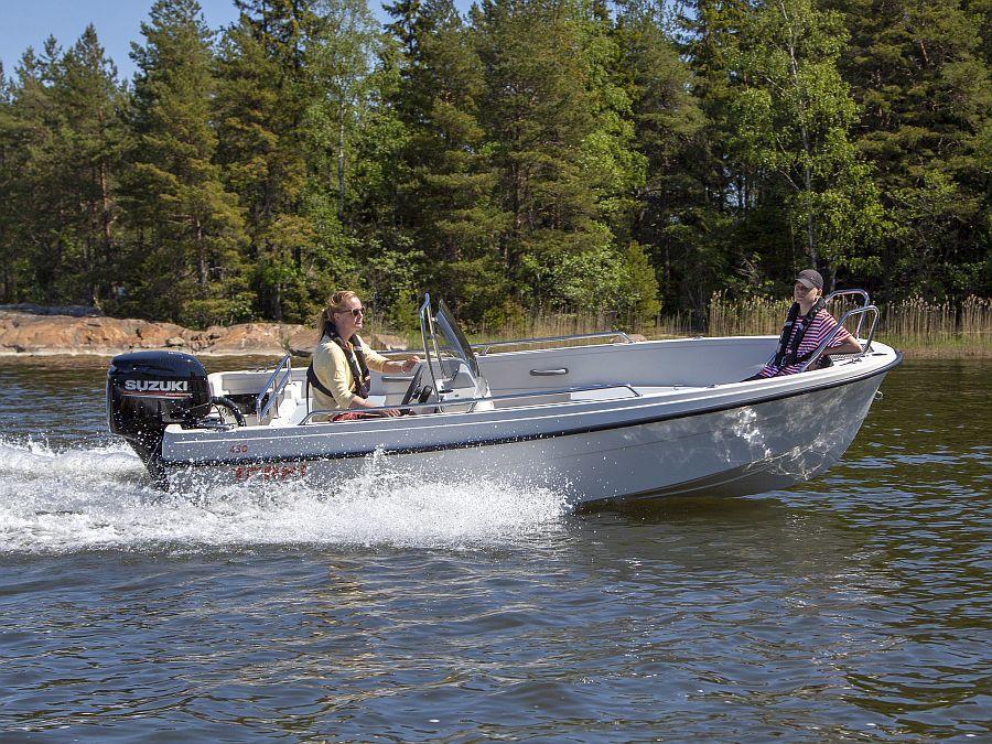 Terhi 450C Motorboot Suzuki
