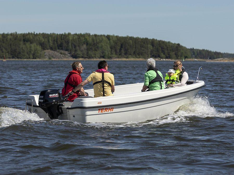 Terhi 450 Motorboot