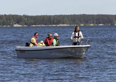 Terhi 450 Familienboot füt 7 Personen zugelassen